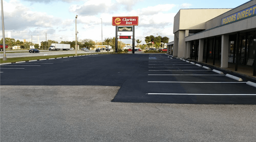 Parking Lot Repair Ocala FL 2